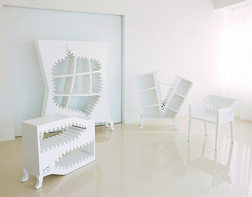 Zipping Furniture: Project [ZIP:PER] by THE:Zoom
