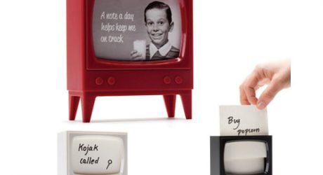 Retro Television Note Reminder by Amidov