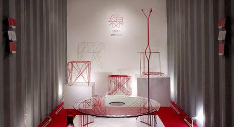 A Nod to Graphic Design: Line Furniture by Shinn Asano