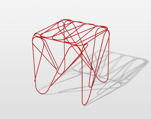 Graphic Design With Lines : A nod to graphic design line furniture by shinn asano