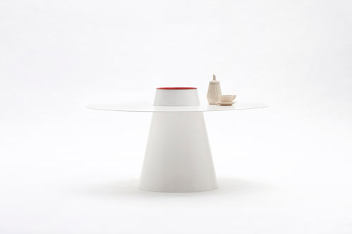 Hat-Shaped Sombrero Table and More Furniture by Studio 06
