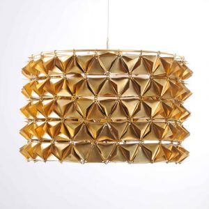 Faceted Tactile Light Collection by Studio Avni