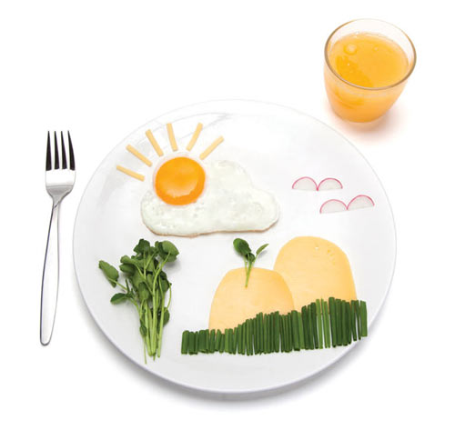Sunny Landscapes for Breakfast: SunnySide Egg Shaper by Avihai Shurin in style fashion main home furnishings  Category