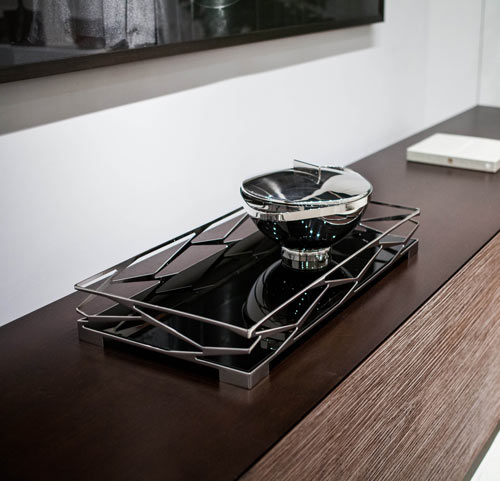 Coffee + Tea with a Side of Art: Trama Line by Jacqueline Terpins for Riva in home furnishings  Category