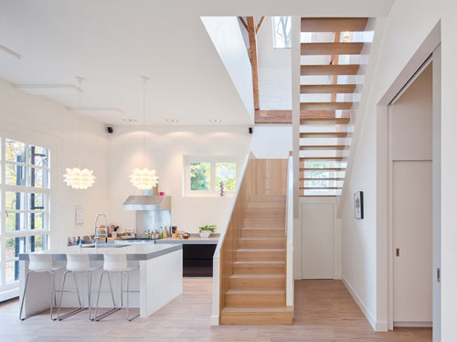 An Old Horse Stable and Coach House Become a Home