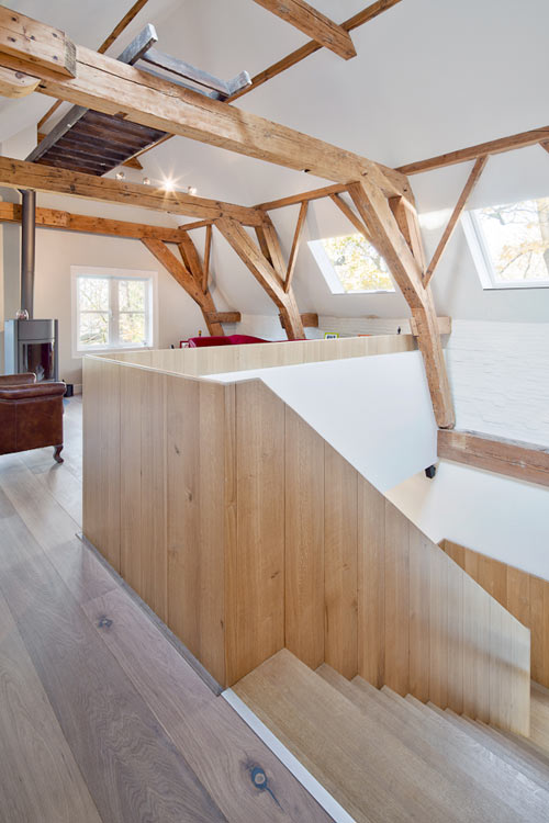 An Old Horse Stable and Coach House Become a Home in main architecture  Category