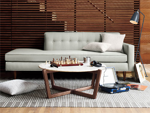 Atlas Collection by Brad Ascalon for DWR in main home furnishings  Category