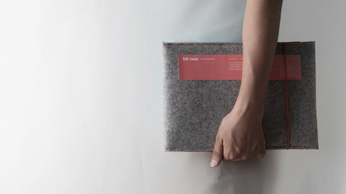 Felt Case by cloudandco in technology style fashion main  Category