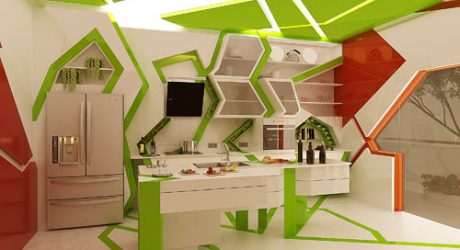 Cubism in the Kitchen by Gemelli Design Studio