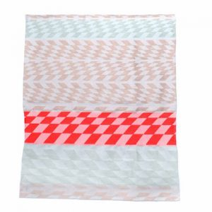 Colorful Geometric Tea Towels by Studio Mae Engelgeer