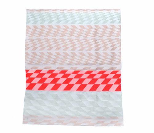 Colorful Geometric Tea Towels by Studio Mae Engelgeer