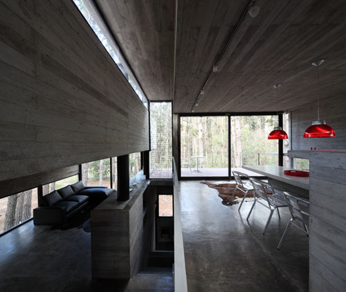 A Concrete House With Many Levels by BAK Arquitectos in main architecture  Category