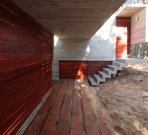 A Concrete House With Many Levels by BAK Arquitectos in architecture  Category