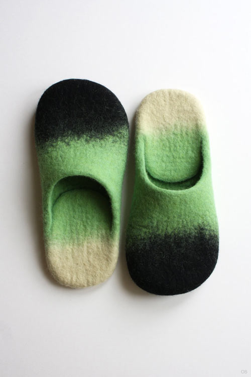 Wool Felted Slippers by Onstail in style fashion main  Category