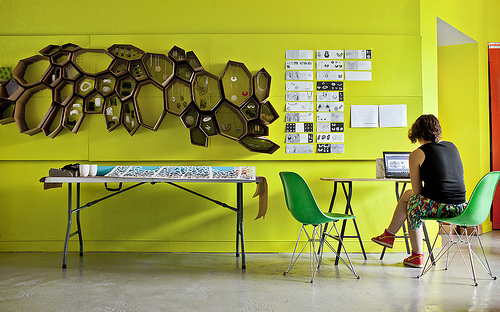 Where I Work: Nervous System in technology style fashion home furnishings featured Category