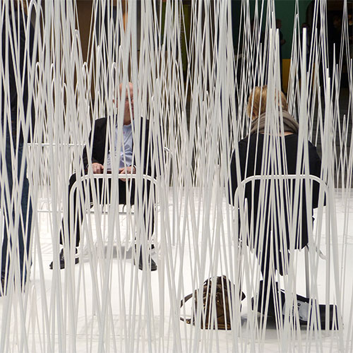 Nendo installation at Stockholm Furniture Fair