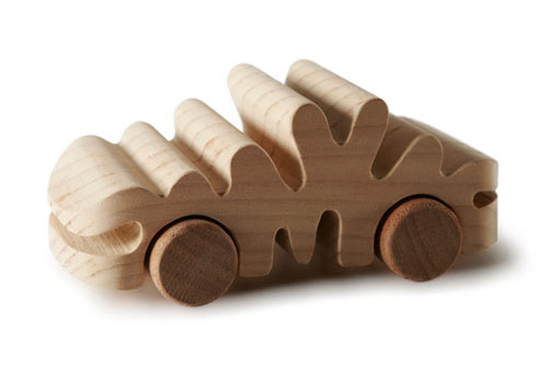 100% TobeUs: 100 Wooden Toy Cars by 100 Designers