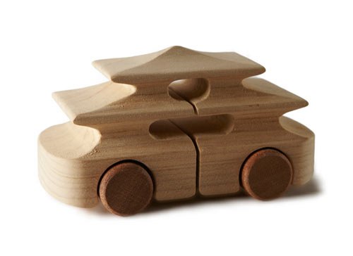 100% TobeUs: 100 Wooden Toy Cars by 100 Designers in style fashion main home furnishings art  Category
