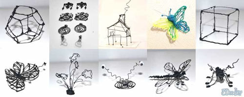 3D Pen Lets You Doodle Right off the Page and Into the Air in technology art  Category