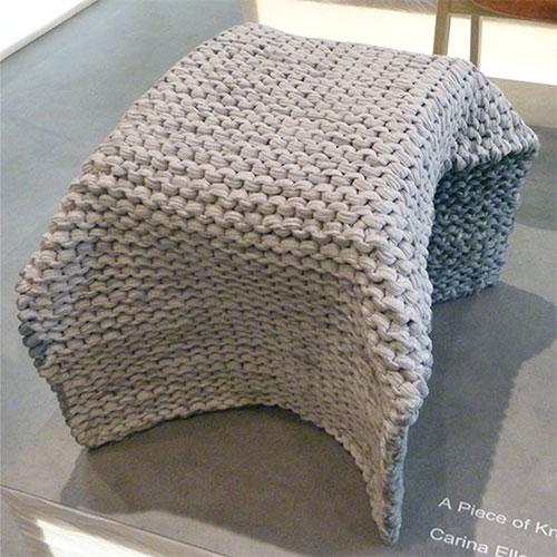 A piece of knit