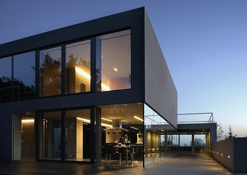 architectural house. Aatrial Architectural House C