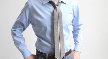 A Necktie That Zips: Zip Tie from Actual