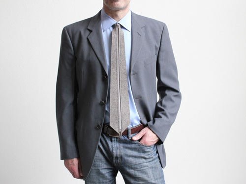 A Necktie That Zips: Zip Tie from Actual in style fashion main  Category