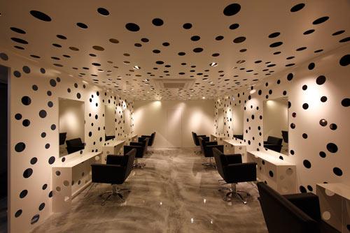 Perforated Beauty Salon by Yasunari Tsukada Design Design Milk