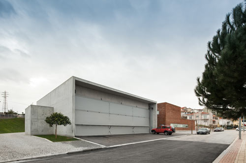 Modern Fire Station In Portugal By 193 Lvaro Siza Vieira