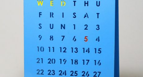 Perpetual Calendar by Block