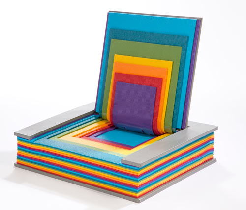 Rainbow Book Chair by Chen Liu