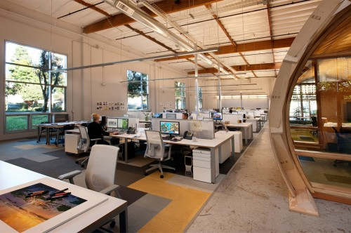 Cuningham Group Architecture Designs Their Own La Office Design Milk