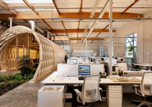 Architecture Office cuningham group architecture designs their own la office - design milk
