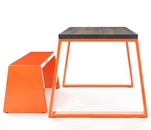 M-Bamboo Table & M-Bench by Jennifer Newman Studio