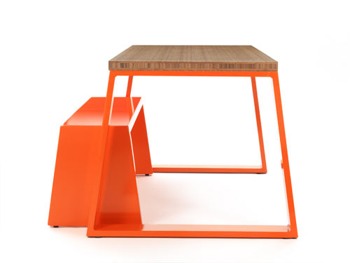 M Bamboo Table & M Bench by Jennifer Newman Studio in main home furnishings  Category
