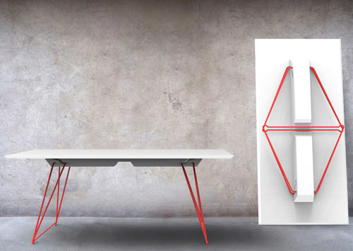 A Folding Table Called Lucy ...