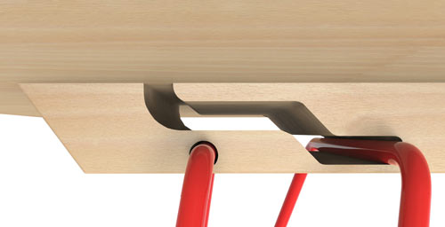 A Folding Table Called Lucy Design Milk