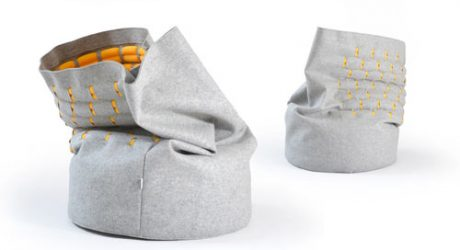 A New Way to Sit: Snug Chair by Kumeko