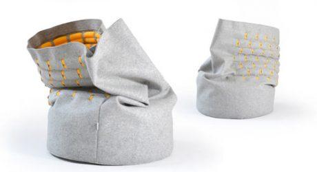 A New Way to Sit: Snug Chair by Kumeko