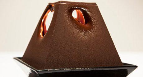 A Lamp Made of Chocolate: La Lumiére au Chocolat by Alexander Lervik