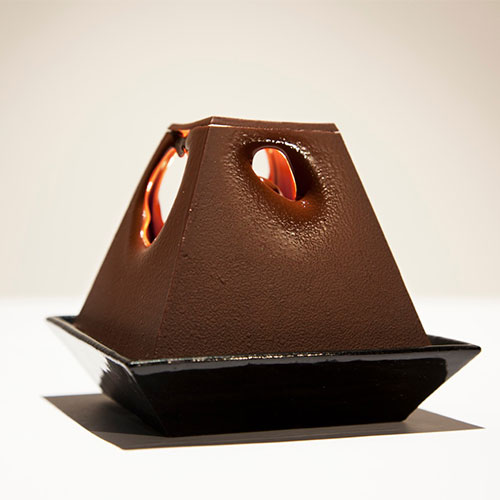 A Lamp Made of Chocolate: La Lumiére au Chocolat by Alexander Lervik