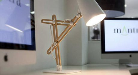 Looker Desktop Lamp by Santiago Sevillano
