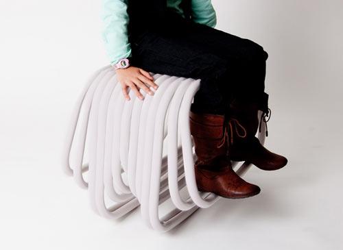 CFE Rocking Seat by Mariana Aguila