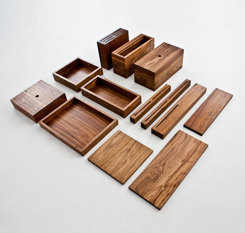 Beautiful Wooden Kitchen Accessories: OnOurTable - Design Milk
