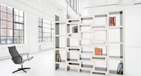Creative Book Storage Solution: REK by Reinier de Jong