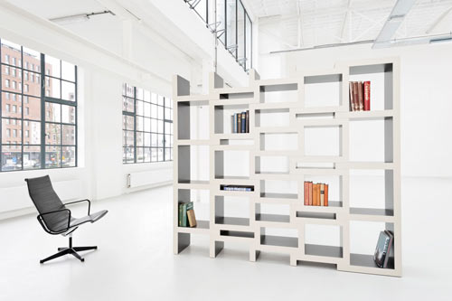 Creative Book Storage Solution: REK by Reinier de Jong