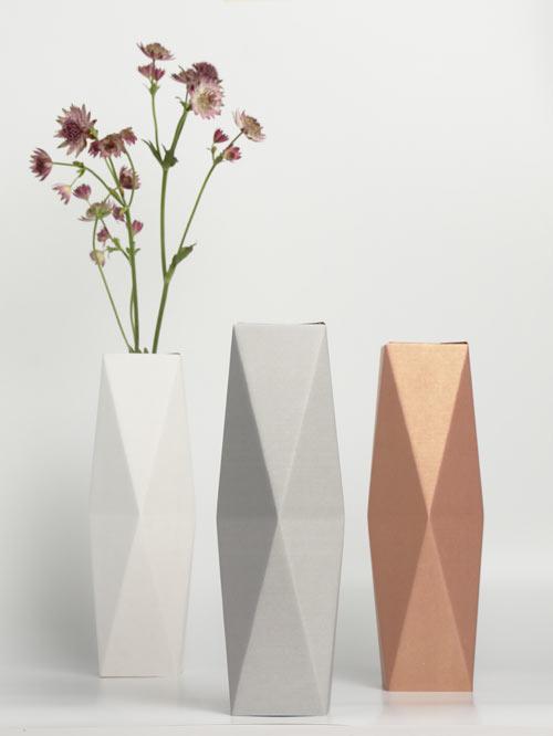 Foldable Water Bottle >> Turn Old Bottles into Vases with snug.studio's snug.vase ...