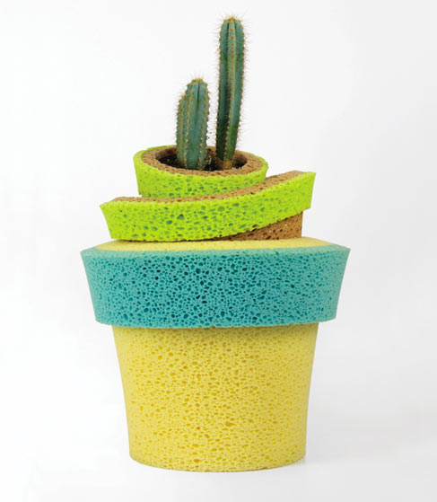 Sponge Vase: InVaso by Stefano Claudio Bison in main home furnishings  Category