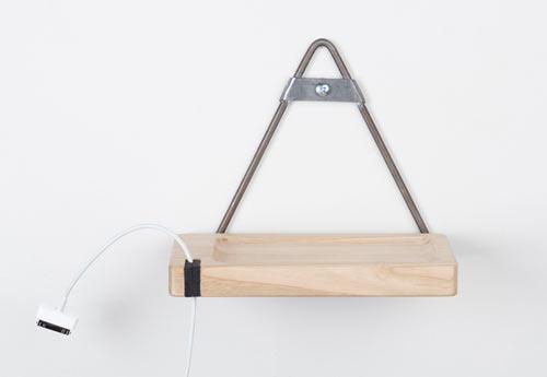 Mid century meets modern gidl f originals design milk - Wall mount headphone holder ...