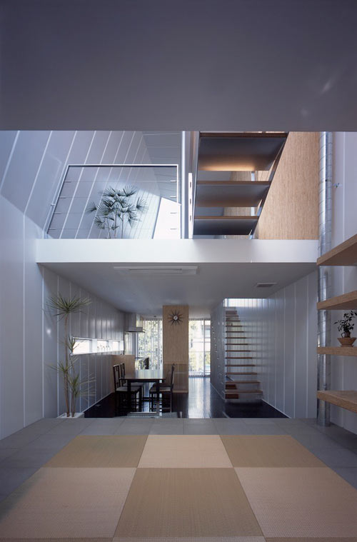 Tokyo Steel House by MDS in architecture  Category